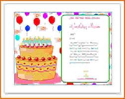 Birthday Card Publisher Template Rome Fontanacountryinn Com