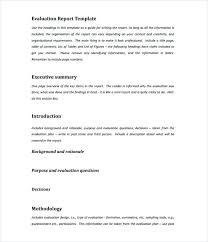 Executive Summary Templates Free Sample Example Format Intended For