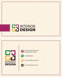 The Home Decorating Company Interior Decorator Business Cards Designs Within The Most Awesome