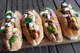 oh you think hot dogs aren t healthy you don t want to nosh on one of those scrumptious ballpark franks or state fair sausages or outdoor concert dogs