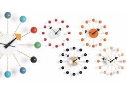 wall clock ball clock by vitra