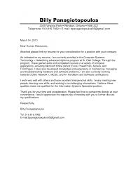 Cover Letter Cover Letter For Staffing Agency Cover Letter For