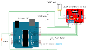 wiring 3 way light switch diagram motor control arduino arduino dc motor control using l298n motor driver pwm h bridge wiring 3 way light switch diagram motor control arduino