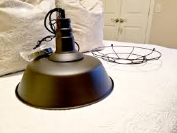 hey friends this just happened 4 vintage inspired barn pendant lights were just delivered from fedex i was super excited to see that i have the option of