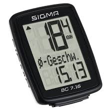 sigma bc 7 16 bike puter wired