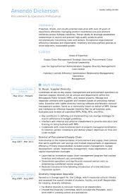 Senior Buyer, Supply Chain & Buyer Resume samples