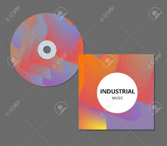Modern Cd Cover Design Modern Abstract Cd Cover Cool Gradient Shapes Composition Futuristic