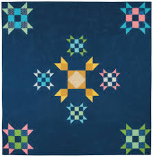 Classic Modern Quilts – Vintage Modern Quilts & I created three versions of the block – the first is the center and the  second and third are really the same block at different sizes. Adamdwight.com