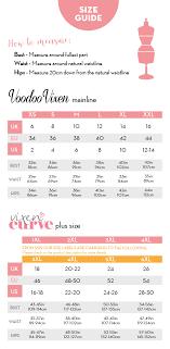 Wedding Gown Dress Size Chart