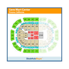 Save Mart Center Fresno Ca Seating Chart Allaboutwales