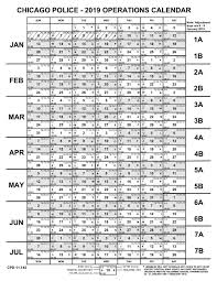 Operations Calendars Fraternal Order Of Police Chicago