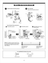 track garage doors charming light chamberlain garage door opener manual