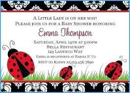Ladybug Invitations Template Free Ladybug Baby Shower Invitations Template Hostingpremium Co