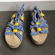 Bimba Y Lola Rope Platform Sandal