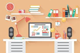 design office desk. Flat-design-office-desk-02-preview-o Design Office Desk