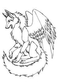 Some would like to have a wolf as a pet, but it's a very bad idea ! Wolf Coloring Pages Templates And Images To Print