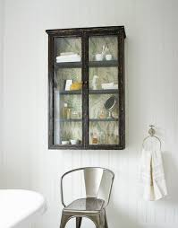 design 160 glass fronted wall cabinet