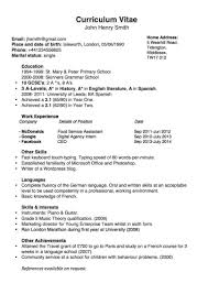 Working Resume Template Templates And Examples Joblers Working