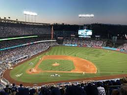 Dodger Stadium Seating Chart Infield Reserve Dodger Stadium Section 10rs Home Of Los Angeles Dodgers