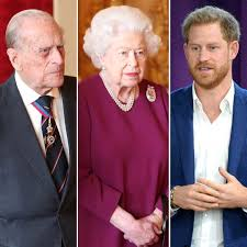 The queen and prince philip met several times as children because of their descendants and became romantically involved while the duke was serving in the british navy during world war 2. Prince Philip Spotted Before Queen Elizabeth Ii S Meeting With Harry