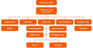 Hotel Kitchen Hierarchy Chart Topic 1 Kitchen Operations The Basics Unilever Food