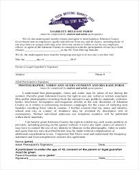 Free Liability Release Form - April.onthemarch.co