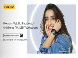 Realme Watch S series, Buds Air Pro ...