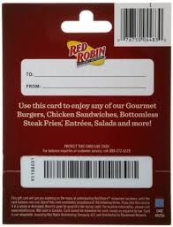 Red Robin Gift Card $25: Gift Cards - Amazon.com