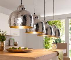 Pendelleuchte Loft Silber Lampen Wohnzimmer