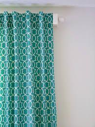 Hidden Tab Curtains Remodelaholic Simple Sewn Back Tab Curtains