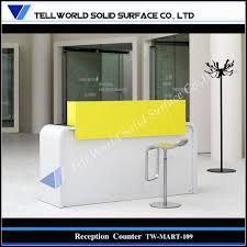 small office reception desk. full size of home officesmall acrylic solid surface office reception desk modern new 2017 small