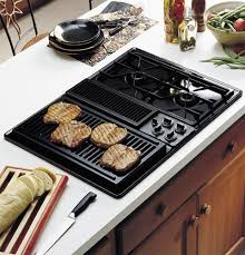 gas cooktop with downdraft. GE Profile™ 30\ Gas Cooktop With Downdraft D