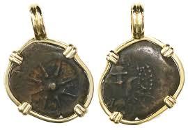 biblical coin jewelry