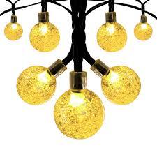 Solar Globe String Lights Innoo Tech Outdoor 197 ft 30 LED Warm