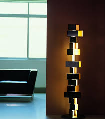 2 floor lamps floor lamps 10 creative modern floor lamps for decorating your house gemma stacked block