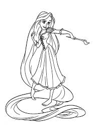 Small Picture Disney Rapunzel Coloring Pages Rapunzel Coloring Pages Tangled