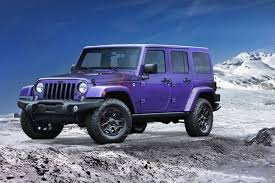 a purple jeep sure why not it s available as part of this year s new backcountry edition
