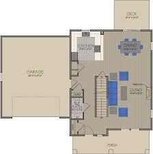 saybrook single family home first floor plan