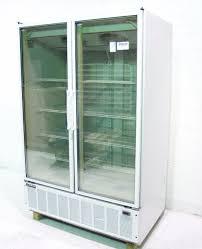 used master bilt blg 48hd glass door freezer display merchandiser 49 cuft sku 181323 sold