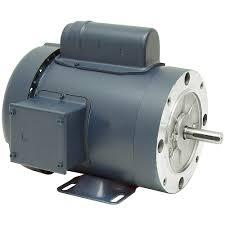 electric motor. AC Motors Face Mount Electric Motor