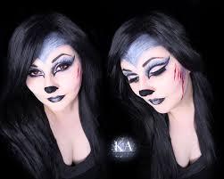 big bad wolf makeup w tutorial by katiealves