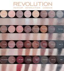makeup revolution london ultra contour palette flawless 32 eyeshadows xueqi s beauty