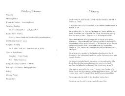 Funeral Guest Book Template Our Favorite Actually Free Funeral Program Templates A Urns