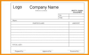 Reimbursement Form Template Word Sample Petty Cash 7 Free Documents