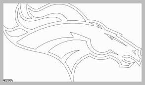 Denver Broncos Coloring Pages Awesome Nfl Logos Coloring Pages