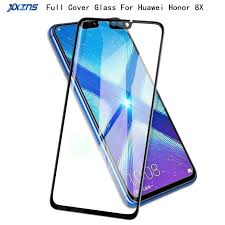 Full cover Tempered Glass For Huawei Honor 8X smartphone 6.5 ...
