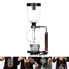 Boil a kettle of hot water and pour it into the bottom glass. Japanese Style Siphon Coffee Maker Tea Siphon Pot Vacuum Coffee Maker Akirasala