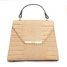 handbags exquisite beige animal print leather women handbag ripani italy in dubai
