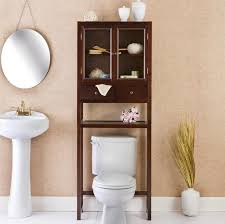 Bathroom Storage Walmart Bathroom Classic Wooden Over The Toilet The Cabinet With Wicker