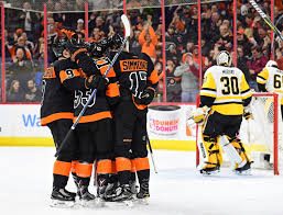 flyers philly philadelphia flyers daily scoring returns as mason delivers shutout
